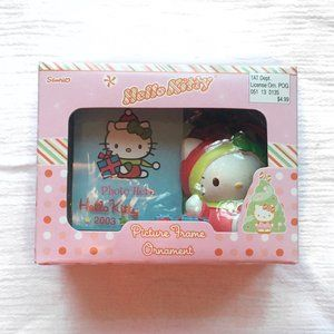 NWT Hello Kitty Holiday Picture Frame Ornament